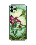 Flirting Fairy and Hummingbird iPhone 11 Pro Max Skin