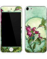 Flirting Fairy and Hummingbird Apple iPod Skin