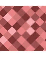 Autumn Red Geometric Apple iPad Skin