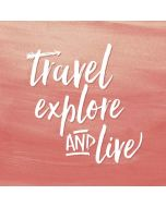 Travel Explore and Live iPhone X Skin