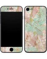 Floral Shadows iPhone 8 Skin