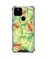 Floral Tropics Google Pixel 5 Clear Case