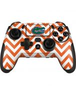 Florida Gators Chevron Print PlayStation Scuf Vantage 2 Controller Skin