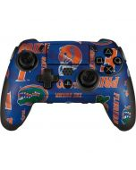Florida Gators Pattern PlayStation Scuf Vantage 2 Controller Skin