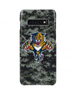 Florida Panthers Camo Galaxy S10 Plus Lite Case