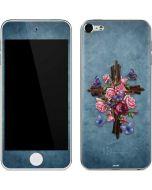 Flower Cross Apple iPod Skin