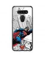 Flying Superman LG K51/Q51 Clear Case