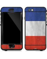 French Flag Distressed LifeProof Nuud iPhone Skin