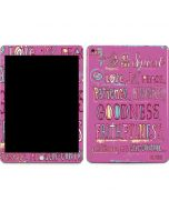 Fruit of the Spirit Apple iPad Skin