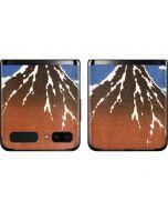 Fuji Mountains in clear Weather Galaxy Z Flip Skin