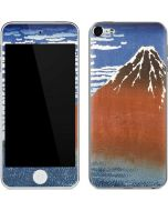 Fuji Mountains in clear Weather Apple iPod Skin