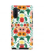Geometric Flowers Galaxy Note 10 Pro Case