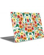 Geometric Flowers Apple MacBook Air Skin