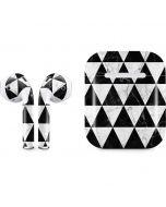 Geometric Marble Apple AirPods Skin