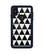 Geometric Marble iPhone X Waterproof Case