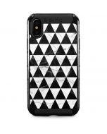 Geometric Marble iPhone XS Max Cargo Case