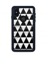 Geometric Marble iPhone XS Waterproof Case