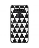 Geometric Marble LG K51/Q51 Clear Case