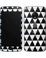 Geometric Marble Moto G5 Plus Skin