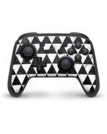Geometric Marble Nintendo Switch Pro Controller Skin