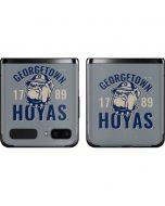 Georgetown Hoyas 1789 Galaxy Z Flip Skin