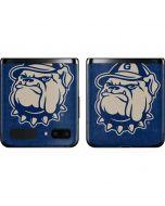 Georgetown Jack the Bulldog Mascot Galaxy Z Flip Skin