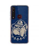 Georgetown Jack the Bulldog Mascot Moto G8 Plus Clear Case
