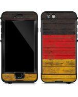German Flag Dark Wood LifeProof Nuud iPhone Skin