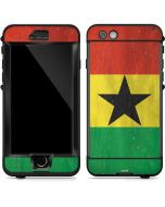 Ghana Flag Distressed LifeProof Nuud iPhone Skin