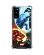 Ghost Rider Collision Course Galaxy S20 FE Clear Case