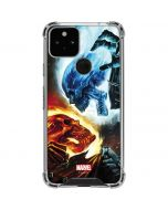 Ghost Rider Collision Course Google Pixel 5 Clear Case