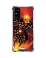 Ghost Rider Drags Chain Galaxy S20 FE Clear Case