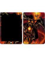 Ghost Rider Drags Chain Apple iPad Skin