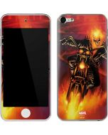 Ghost Rider Drags Chain Apple iPod Skin