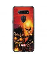 Ghost Rider Drags Chain LG K51/Q51 Clear Case