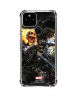 Ghost Rider Laughs Google Pixel 5 Clear Case