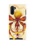 Ghost Rider Skull Galaxy Note 10 Pro Case