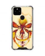Ghost Rider Skull Google Pixel 5 Clear Case