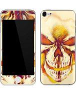 Ghost Rider Skull Apple iPod Skin