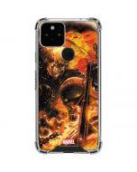 Ghost Rider Spirit of Vengeance Google Pixel 5 Clear Case