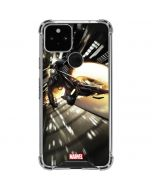 Ghost Rider Wall Ride Google Pixel 5 Clear Case