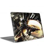 Ghost Rider Wall Ride Apple MacBook Air Skin