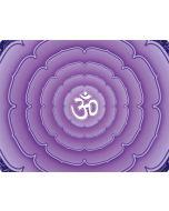 Sanskrit Purple Generic Laptop Skin