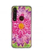 Ginseng Flower Moto G8 Plus Clear Case