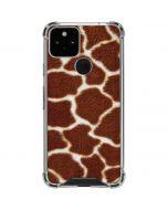 Giraffe Google Pixel 5 Clear Case