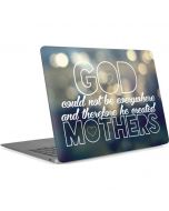 God Created Mothers Apple MacBook Air Skin