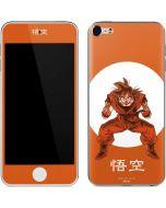 Goku Orange Monochrome Apple iPod Skin