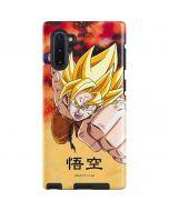 Goku Power Punch Galaxy Note 10 Pro Case