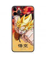 Goku Power Punch iPhone 11 Pro Max Skin