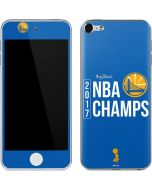 Golden State Warriors 2017 NBA Champs Apple iPod Skin